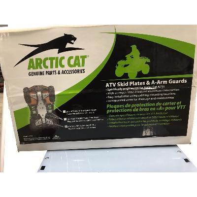 protection alu triangle roue av 1000 arcticcat
