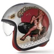 Casque Premier Vintage Pin Up