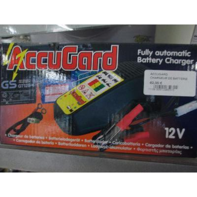 chargeur batterie  accugard